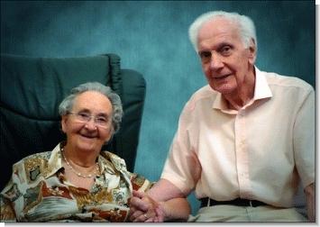 Filippo Wiles con la moglie Margherita